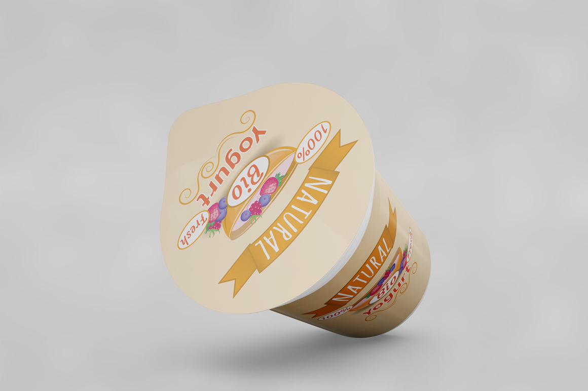 Yogurt Mockup example image 5