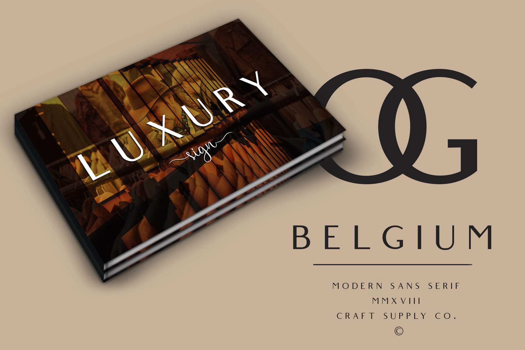 Belgium Font Family example image 8
