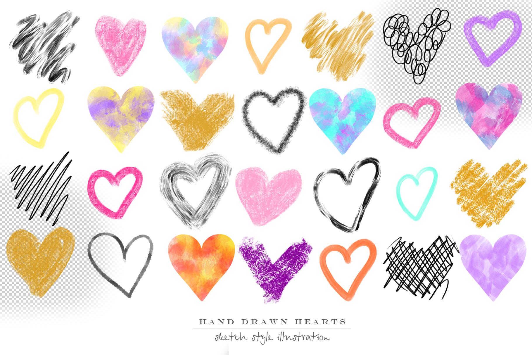 Stylish hearts example image 3
