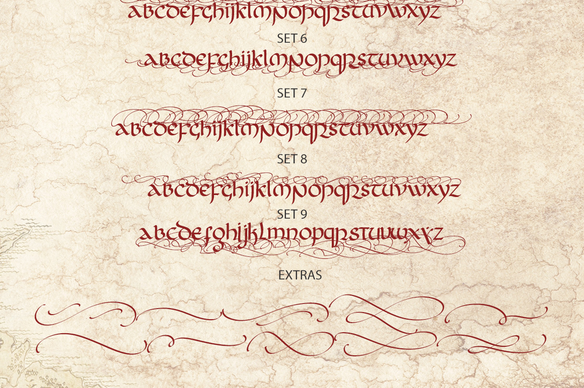 Rivendell. The full of magic font. example image 16
