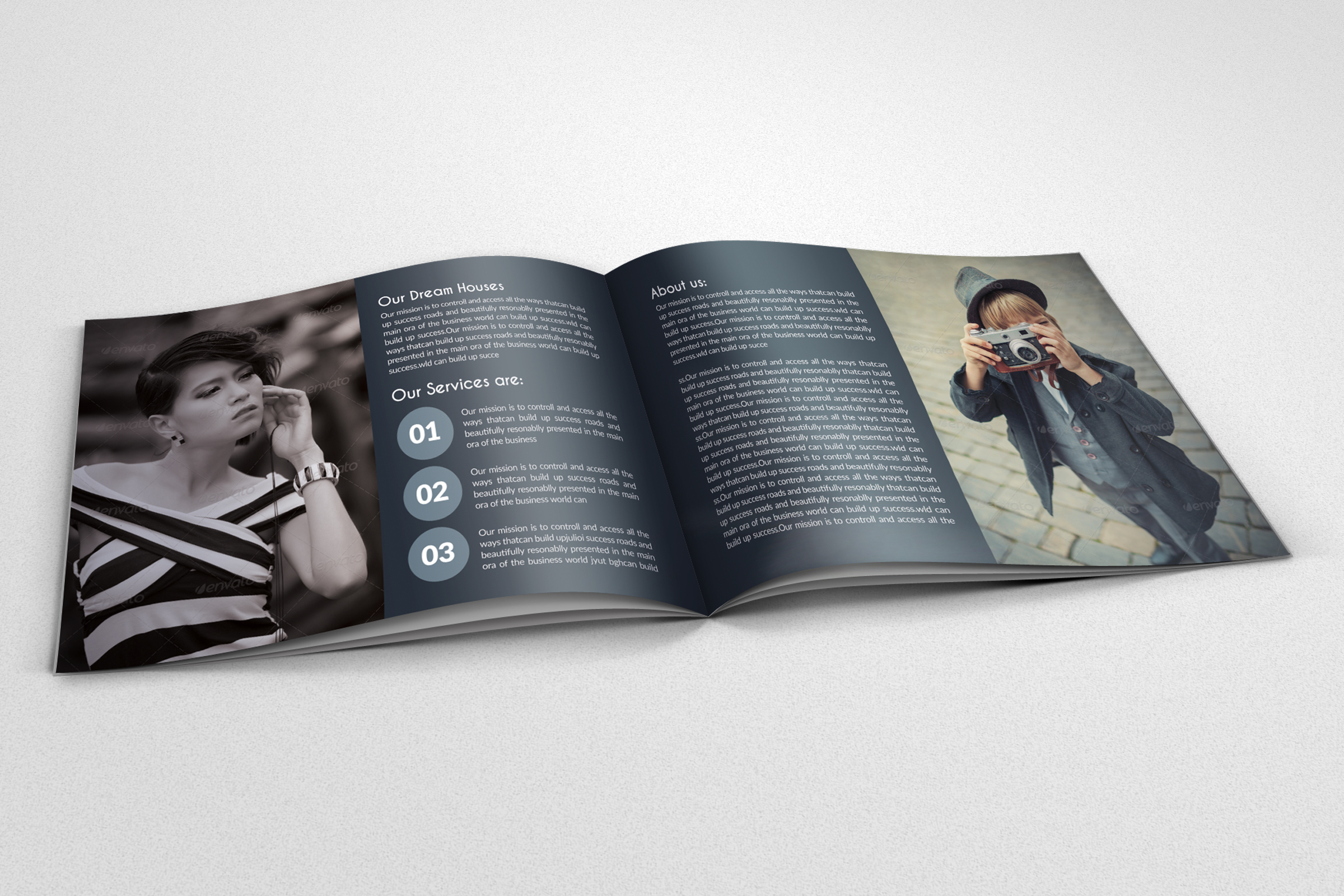 16 Pages Photography Bifold Brochurs example image 8