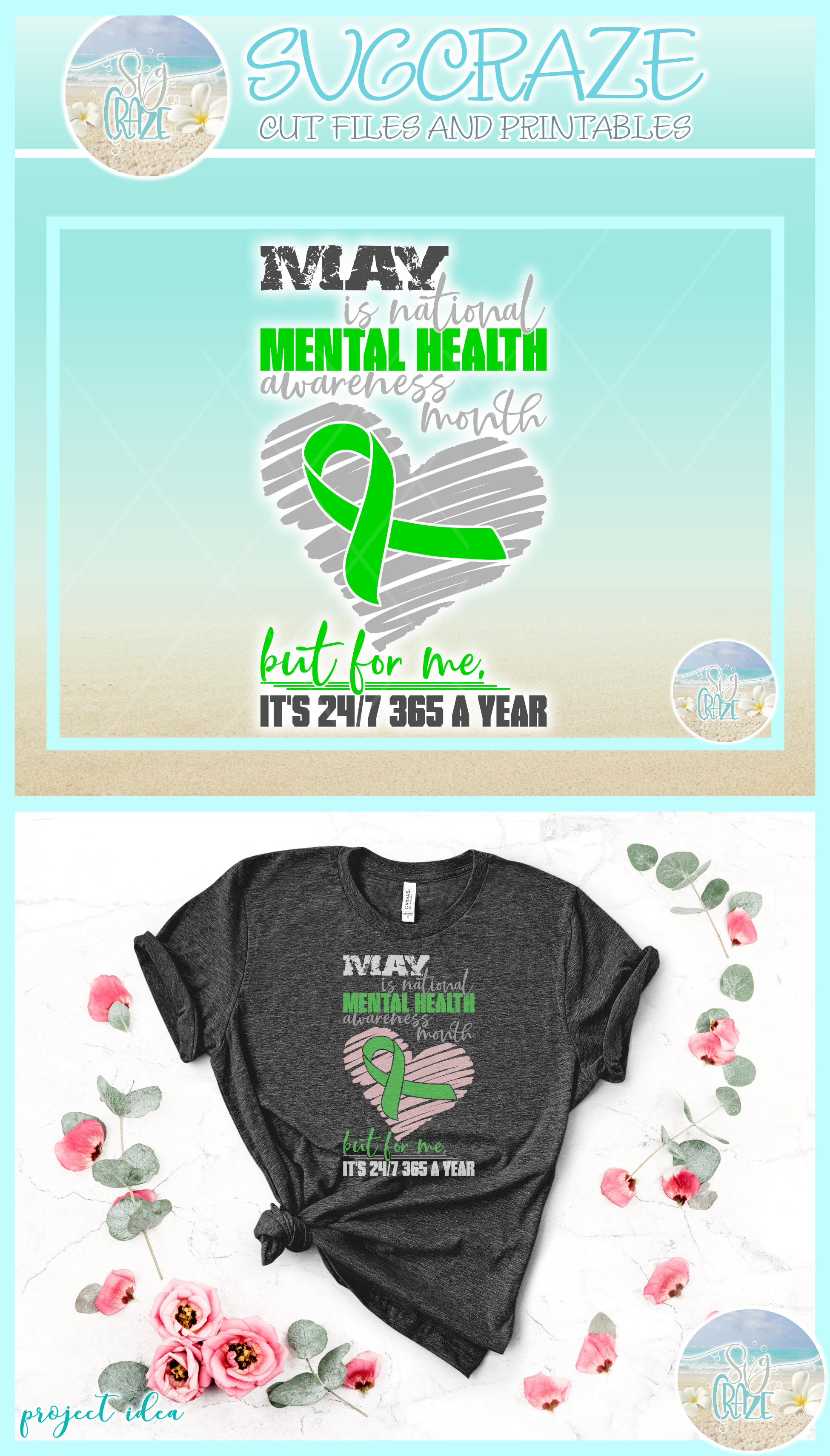 MAY is Mental Health Awareness Month But For Me Its 24 7 365 example image 4