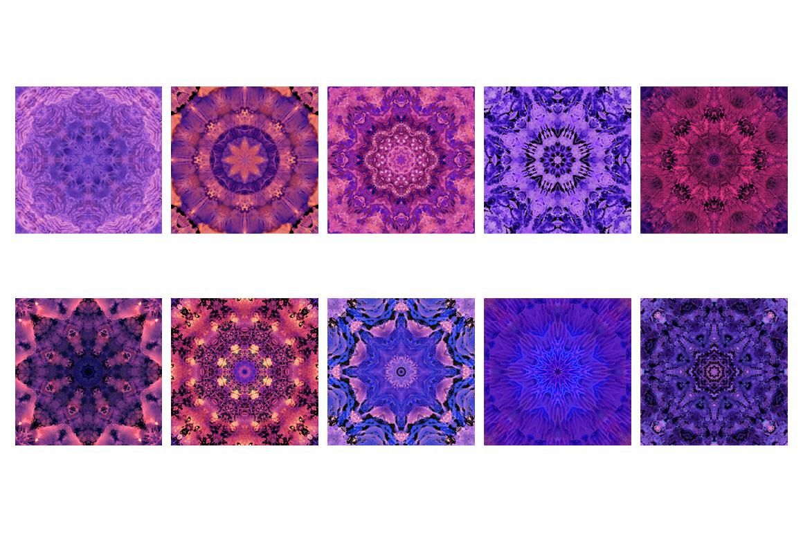 Purple MANDALAS Art example image 12