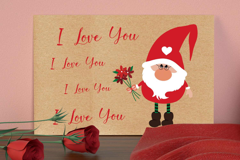 Valentine's Gnomies Svg Bundle example image 7