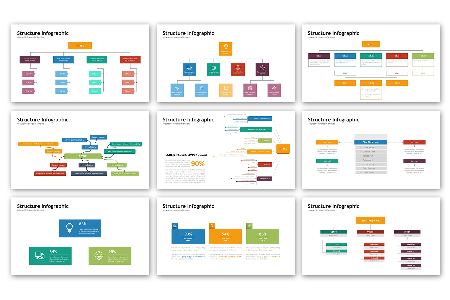 Structure Presentation - Infographic Template example image 3