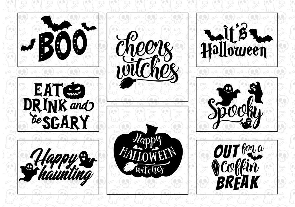 Halloween SVG Cut File Bundle example image 4