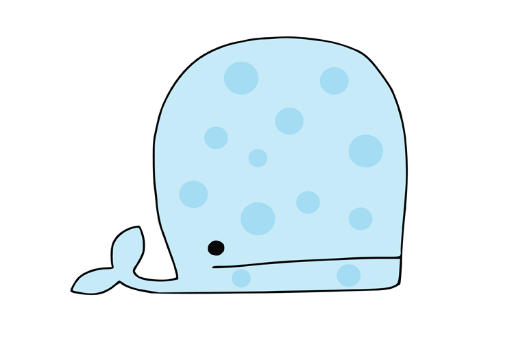 Whale SVG example image 2