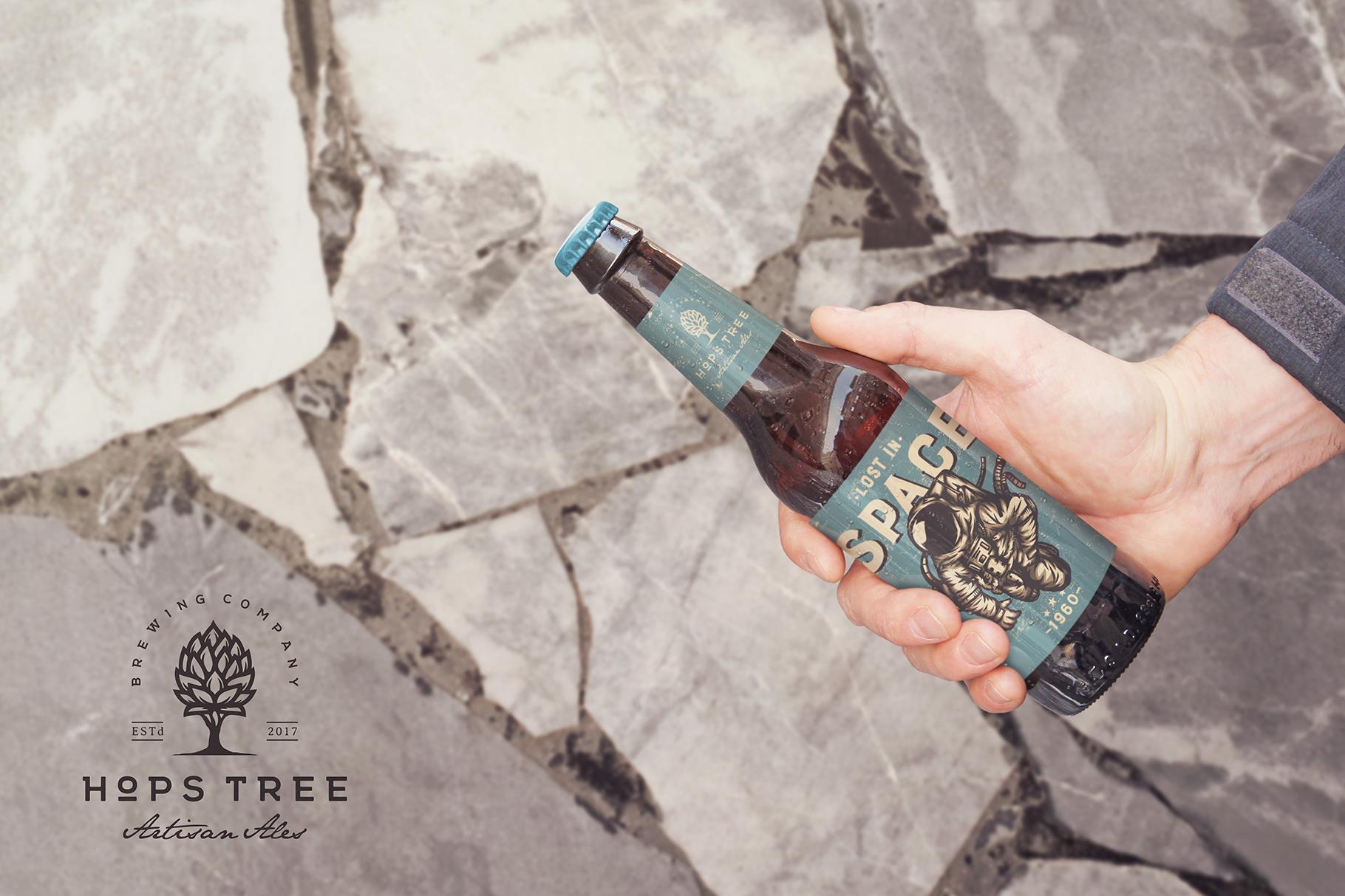 Get Beer Bottle Mockup example image 3
