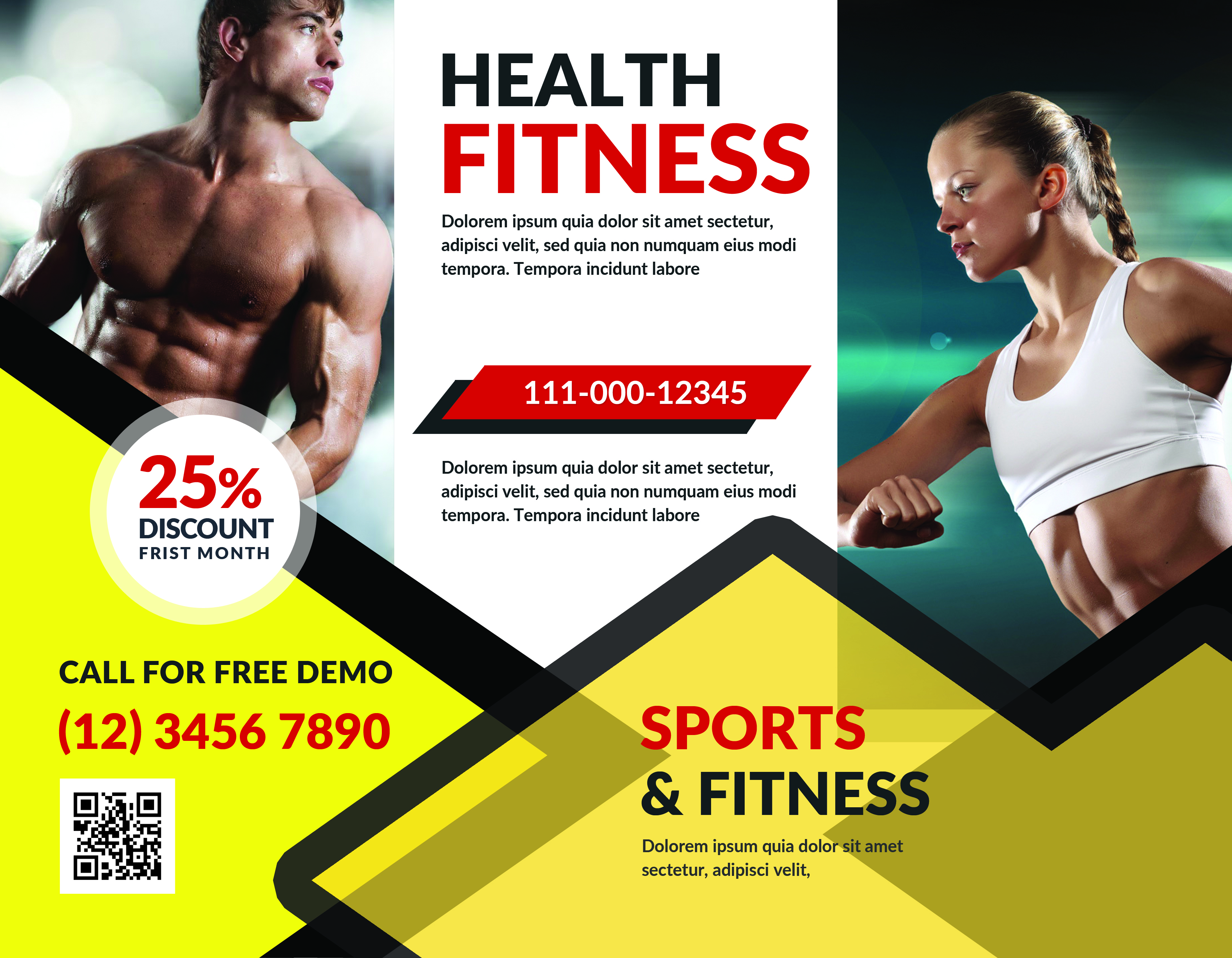 Fitness Brochure example image 1