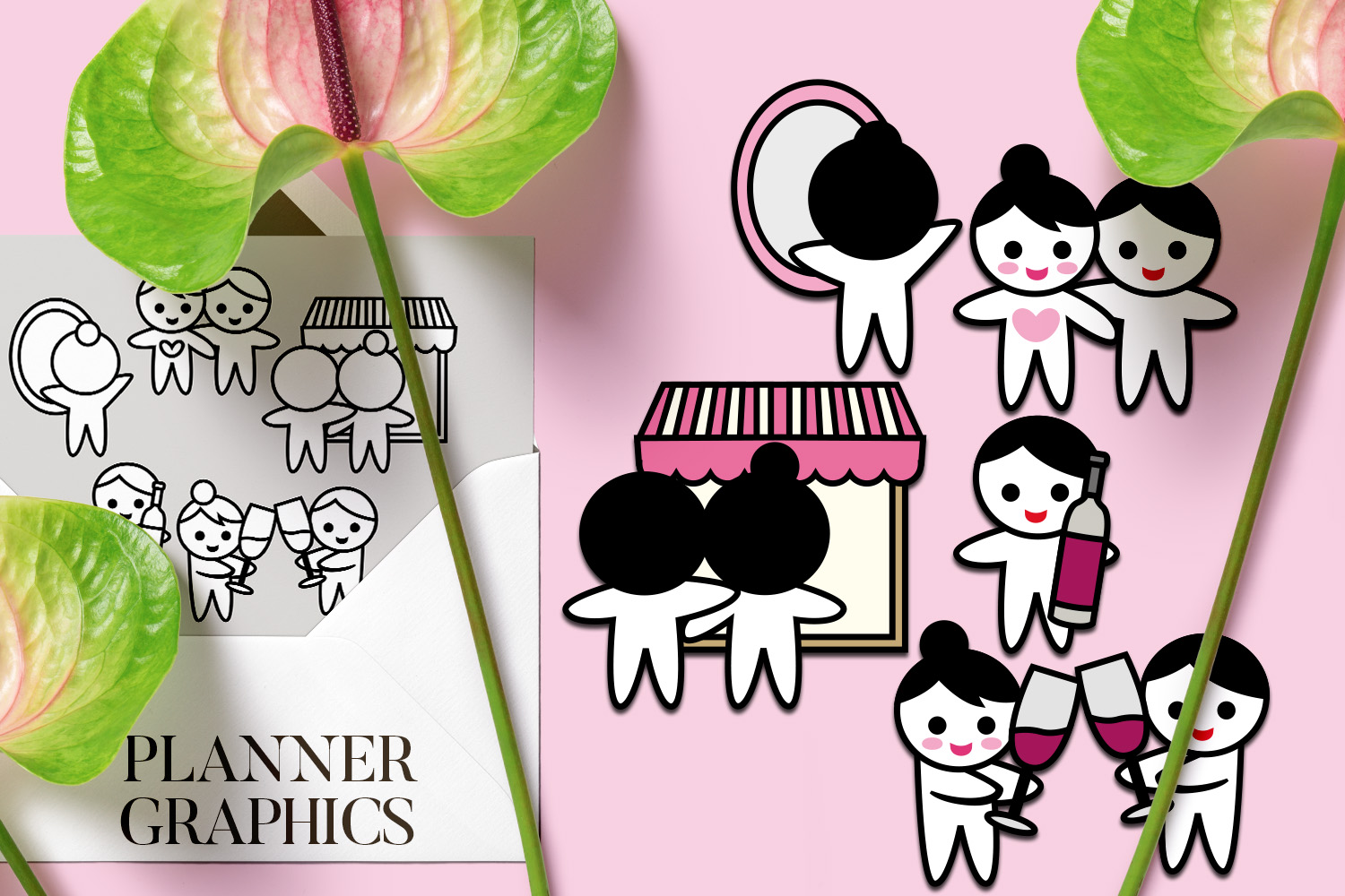 Holidays Bundle - Planner Graphic Illustrations example image 10