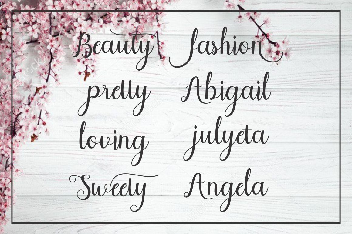 Sweety Script example image 6