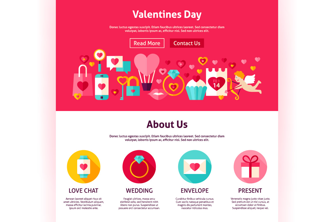 Valentine's Day Web Banners example image 2
