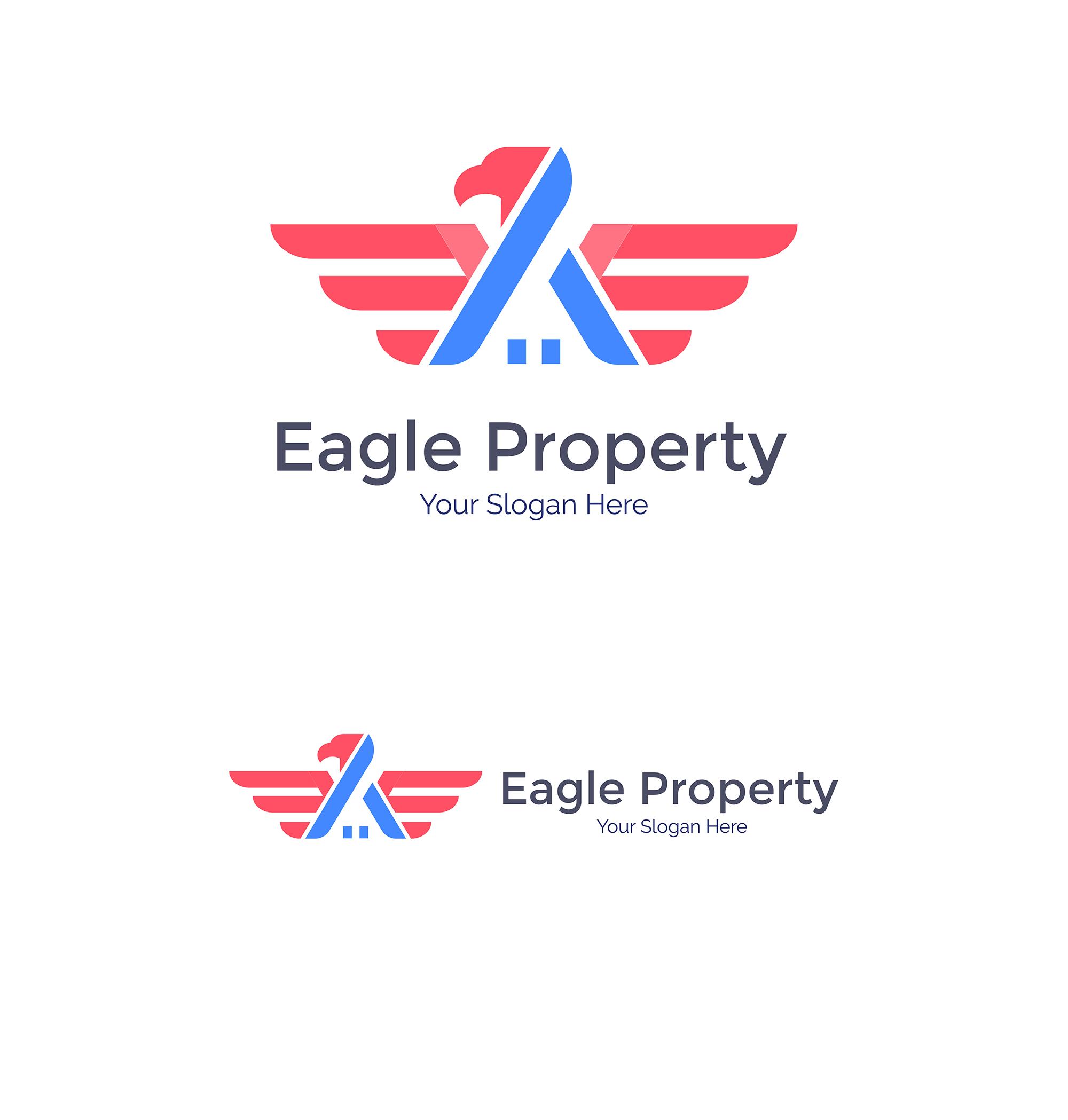 Eagle Construction Logo - Animal logo example image 2