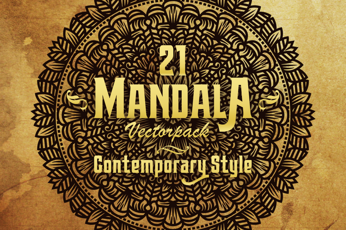 Mandala (Contemporary) Style Vol III example image 1