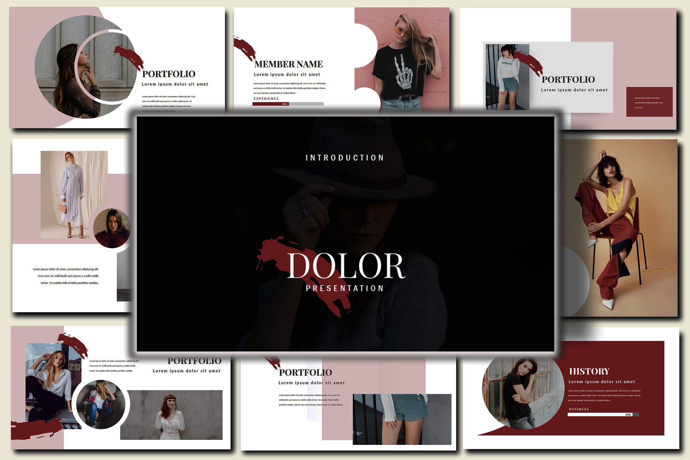 Dolor Stylish Google Slides Presentation example image 2