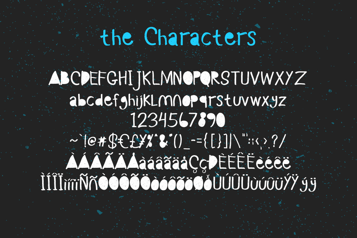 Monstahh Layered Typeface example image 2