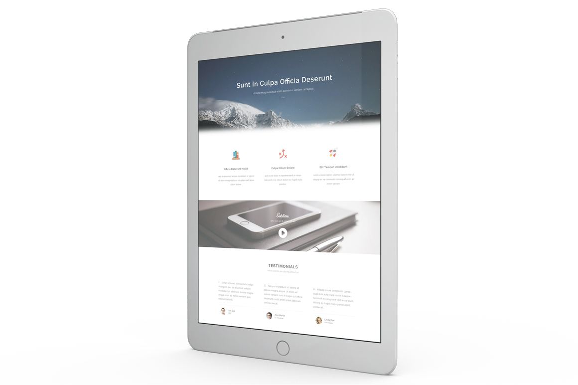 Tablet Mockup example image 9