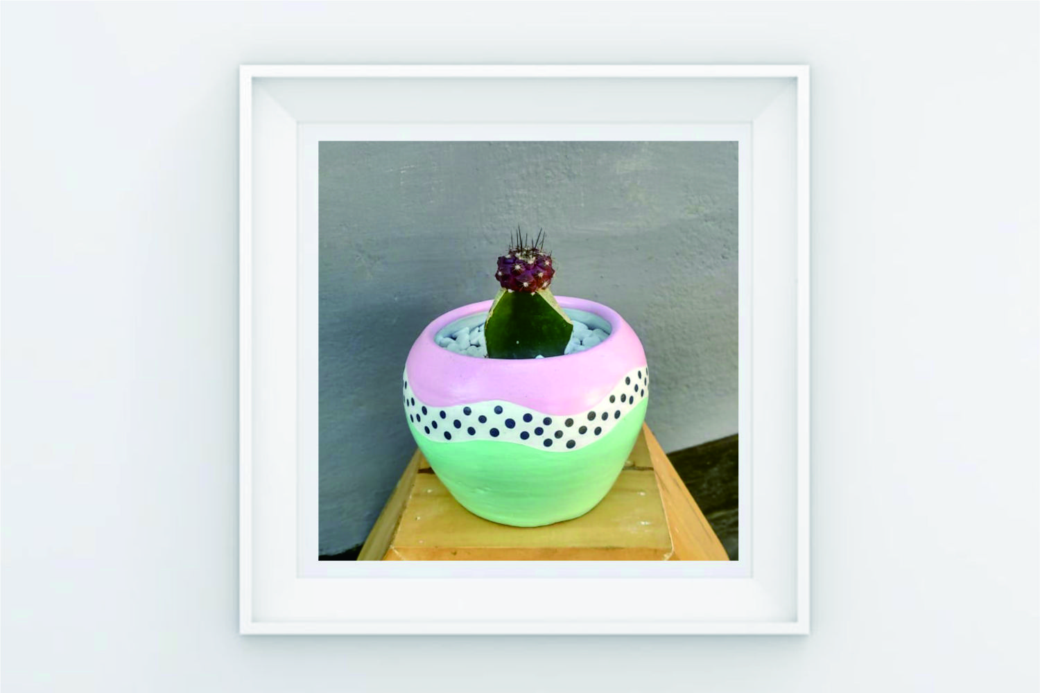 FRAME POSTER A ROUND CASTUS ROUND HAND example image 1