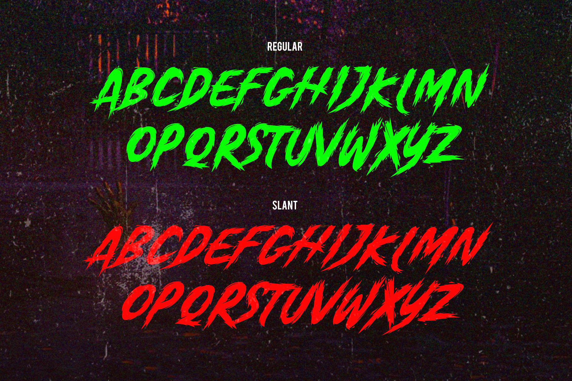 Anger Bae Font example image 6