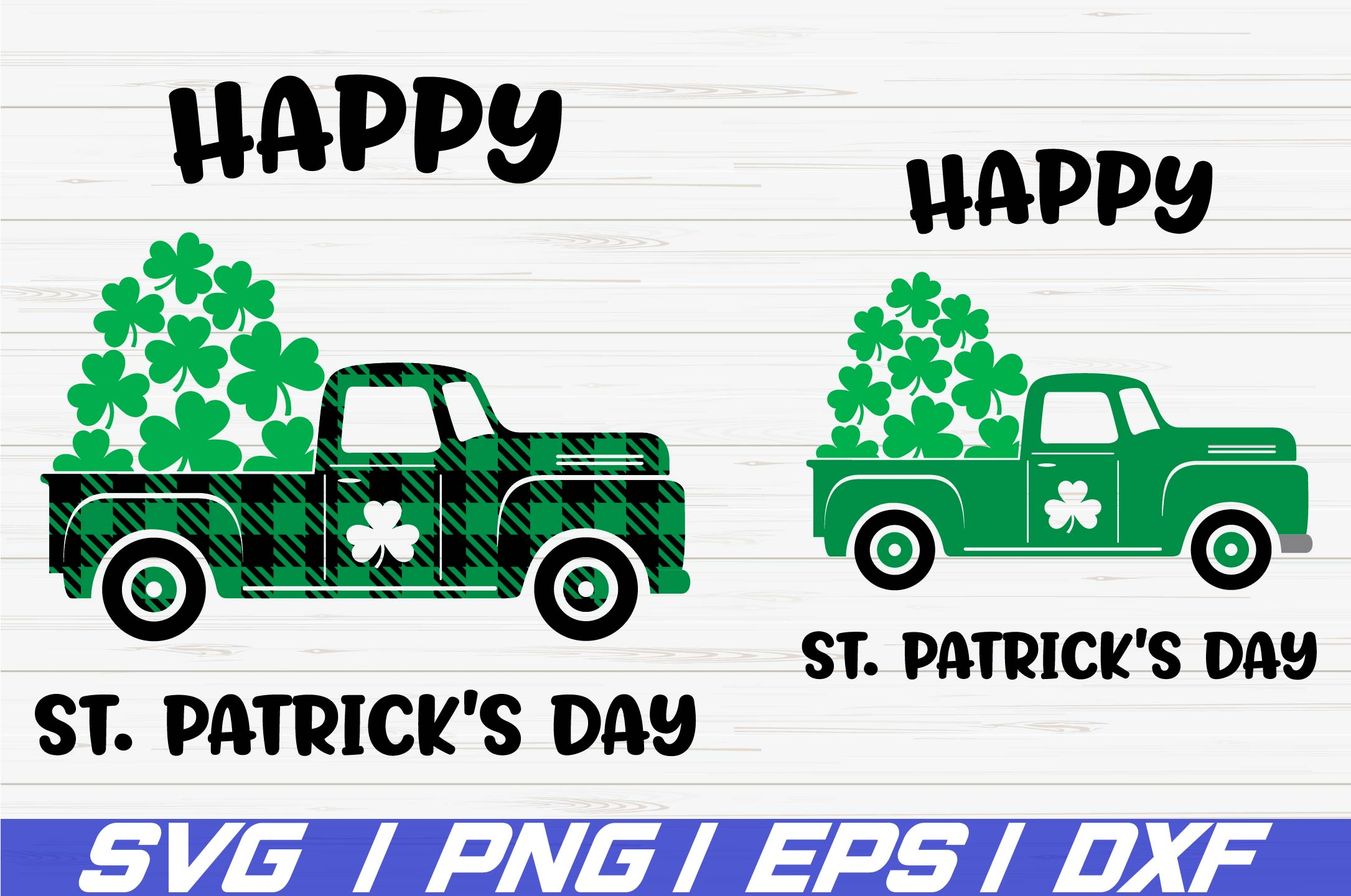 Happy St. Patricks Day SVG / St Patricks Day SVG / Cricut example image 1