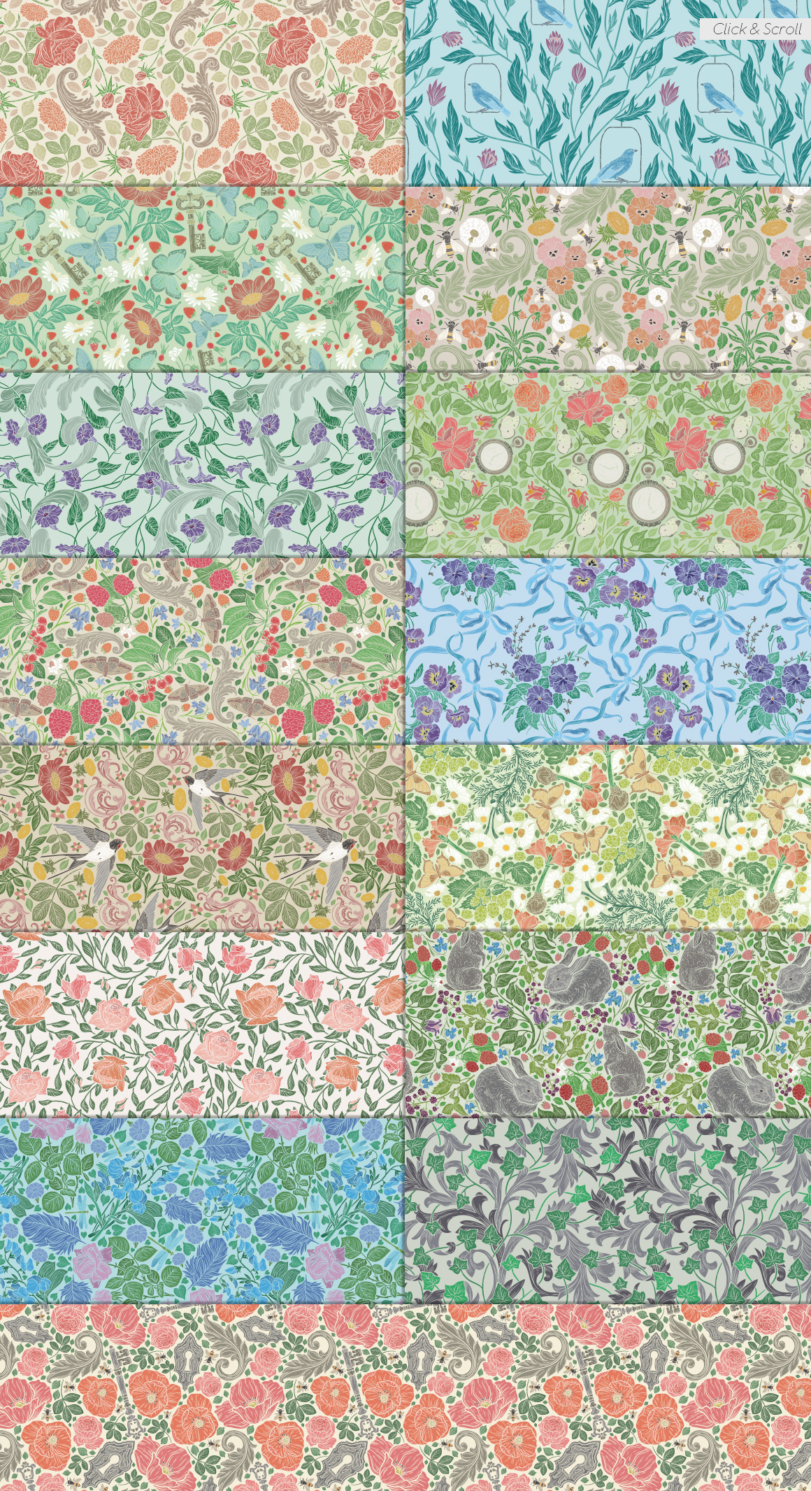 English Backyard patterns example image 4