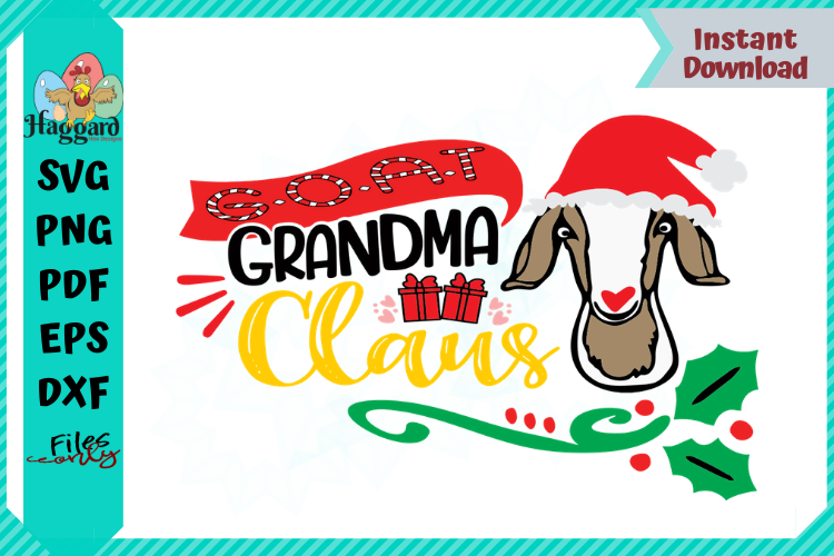 G.O.A.T Grandma Claus example image 1
