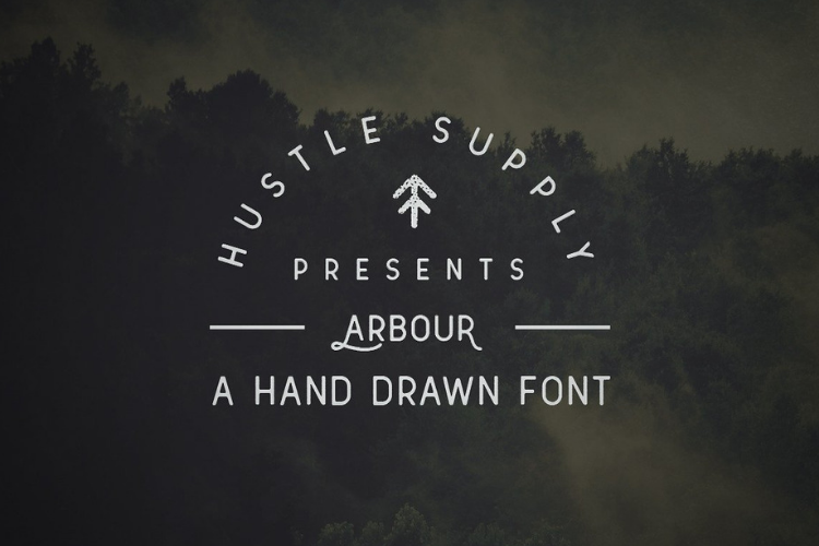 Arbour - Hand Drawn Font example image 2