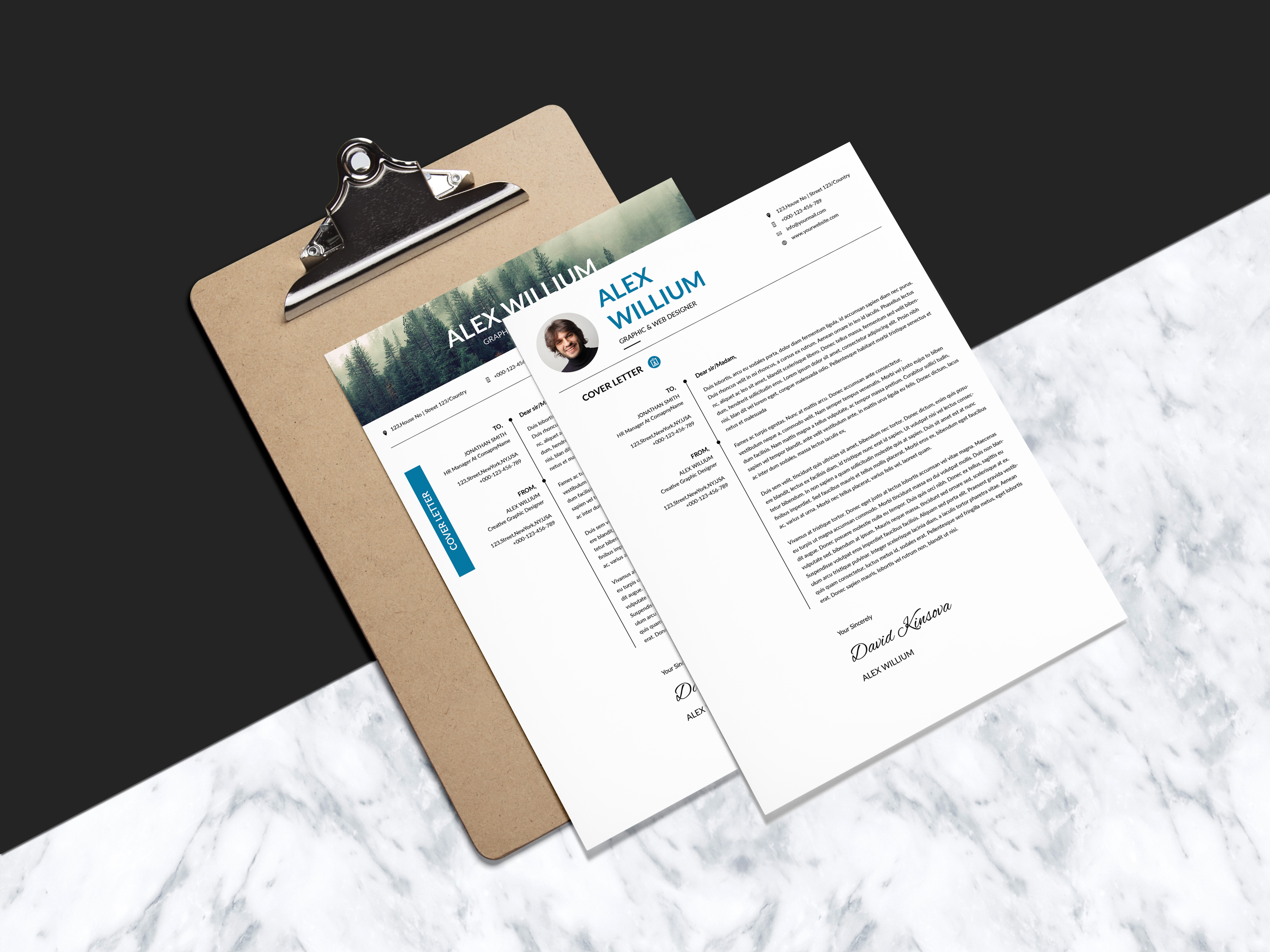 3 Resume 2 Cover-Letter example image 6