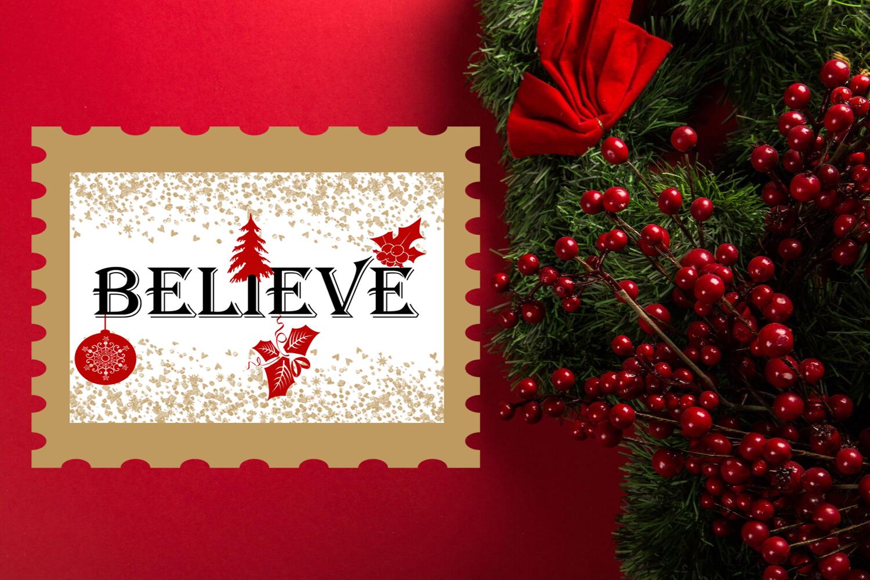 Christmas Clipart- Christmas Overlays-Holiday Graphics example image 2