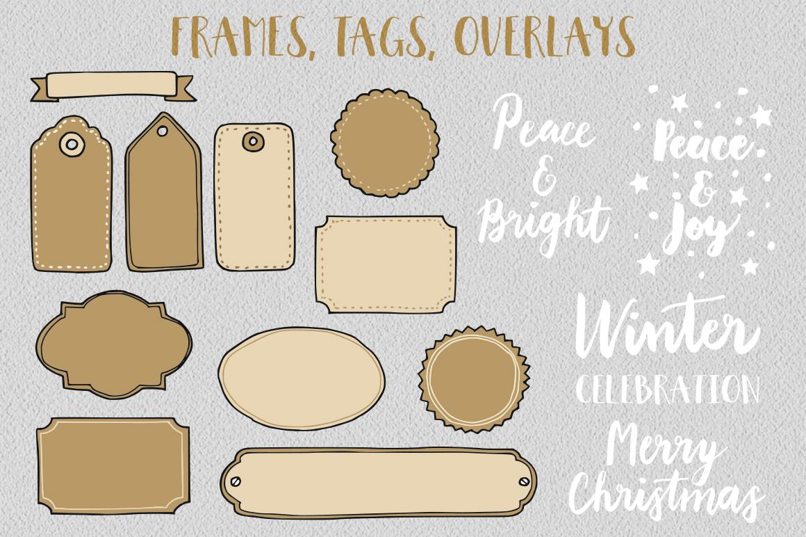 150+ Nordic Christmas set example image 8