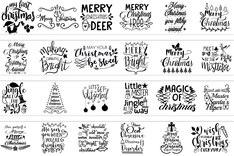 Christmas svg bundle example image 3