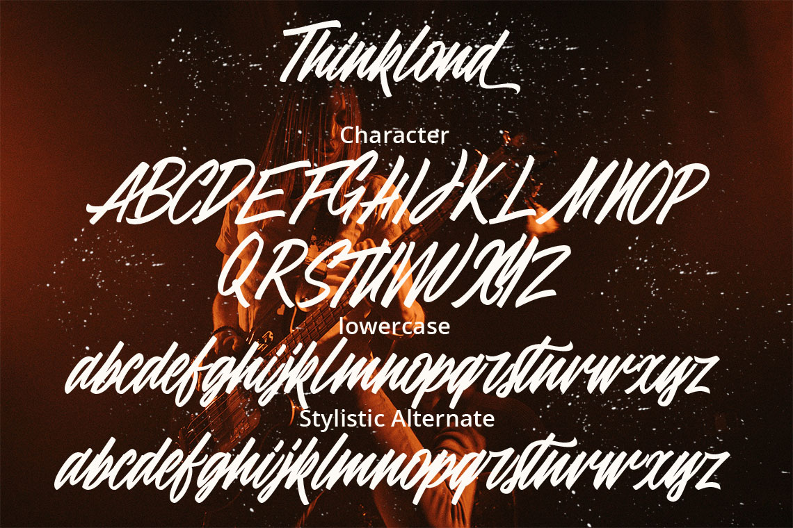 Thinkloud - with Stylistic Alt Style example image 11