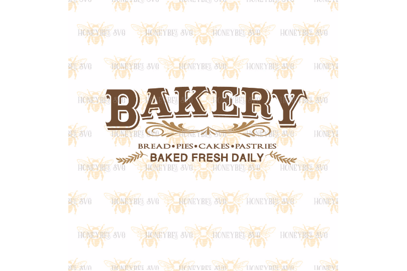 Bakery Country Sign SVG example image 2