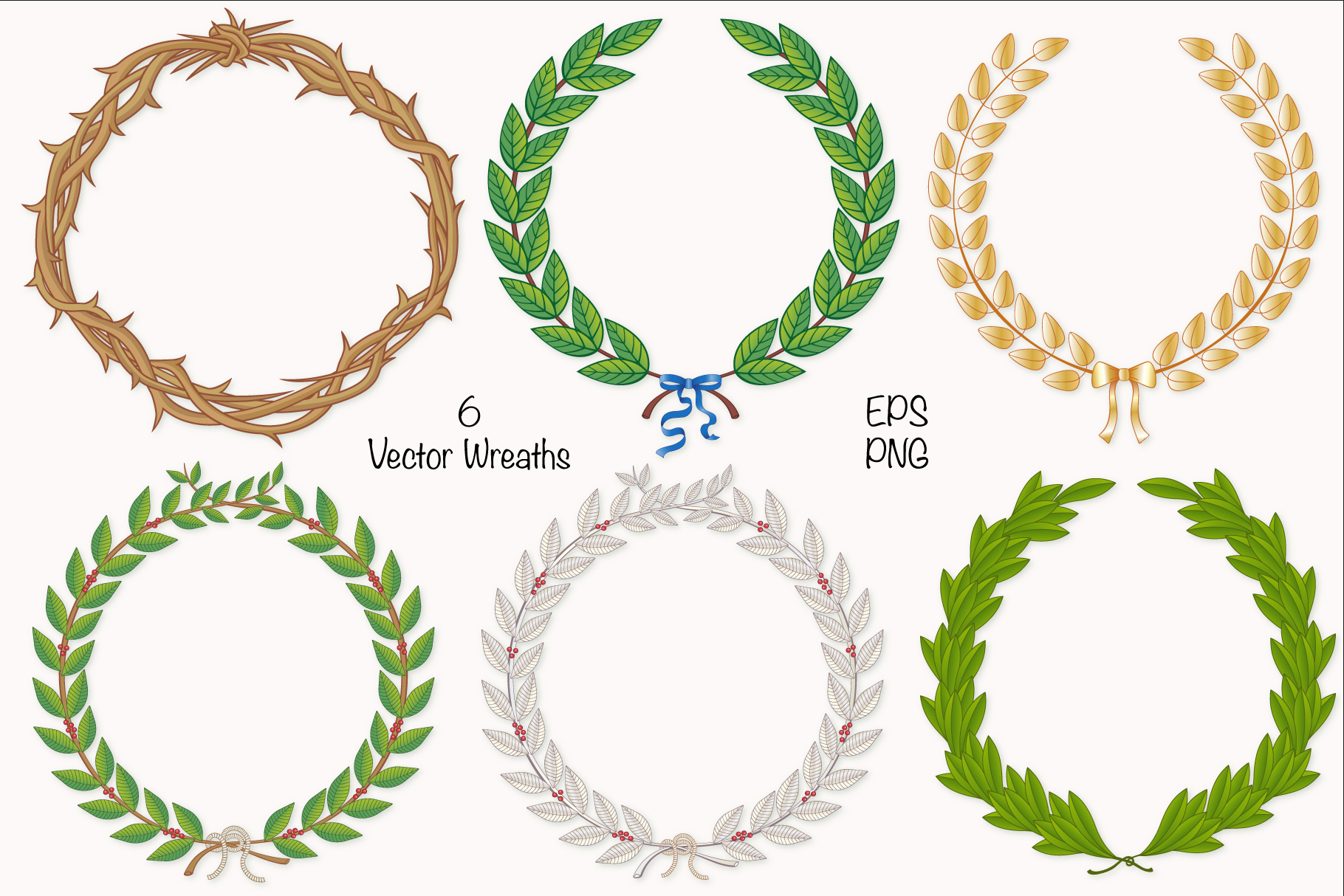 Wreath & Laurel COllection example image 1