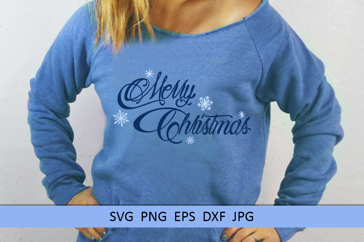 Merry Christmas svg Winter svg Snowflake svg example image 3