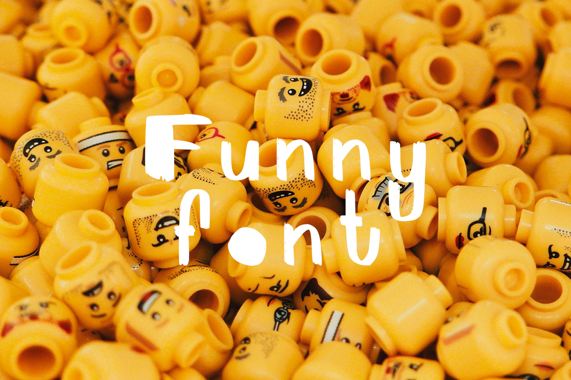 FunnyFont | Brush Font example image 1