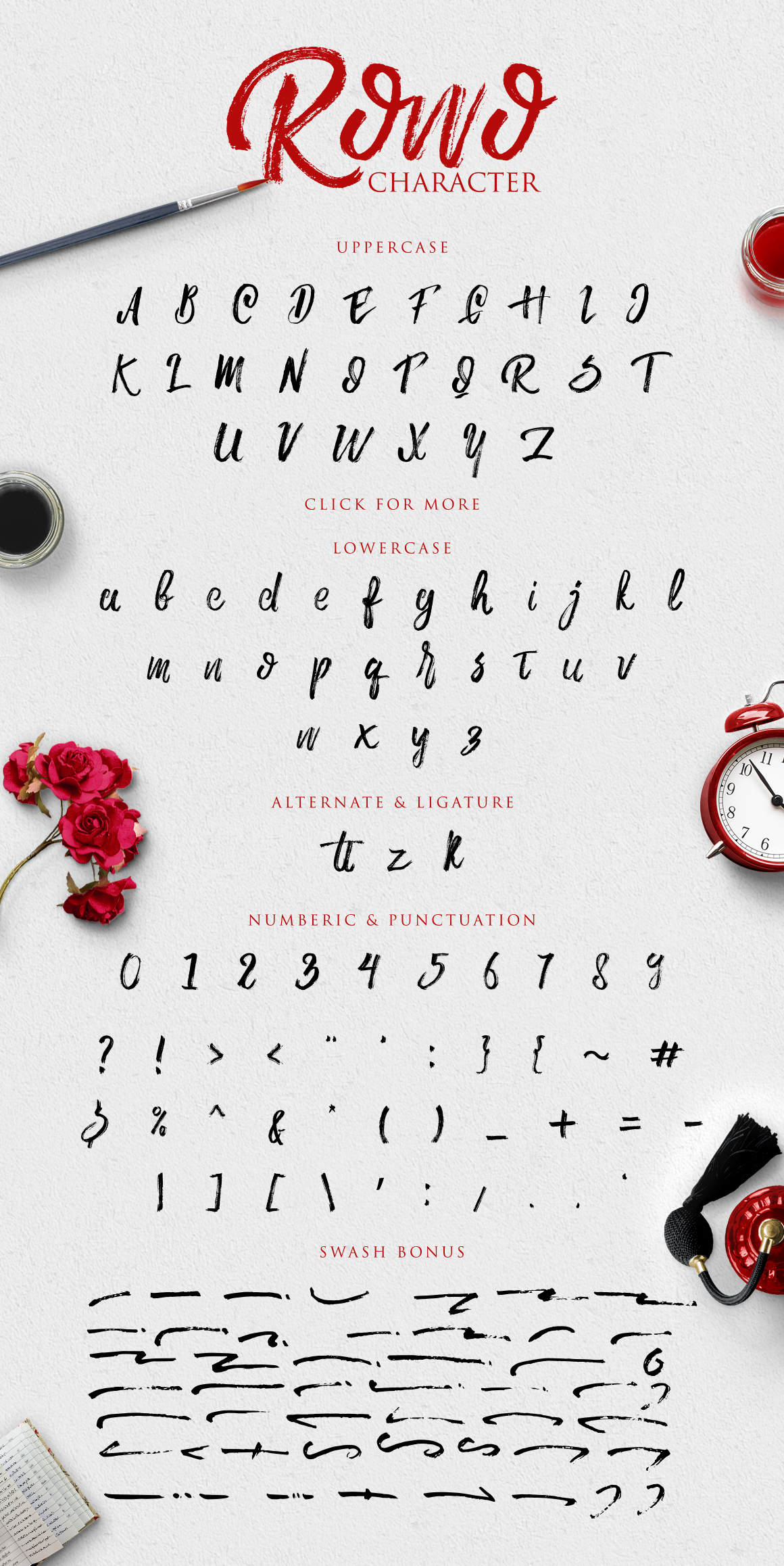Rowo Typeface + Bonus example image 4