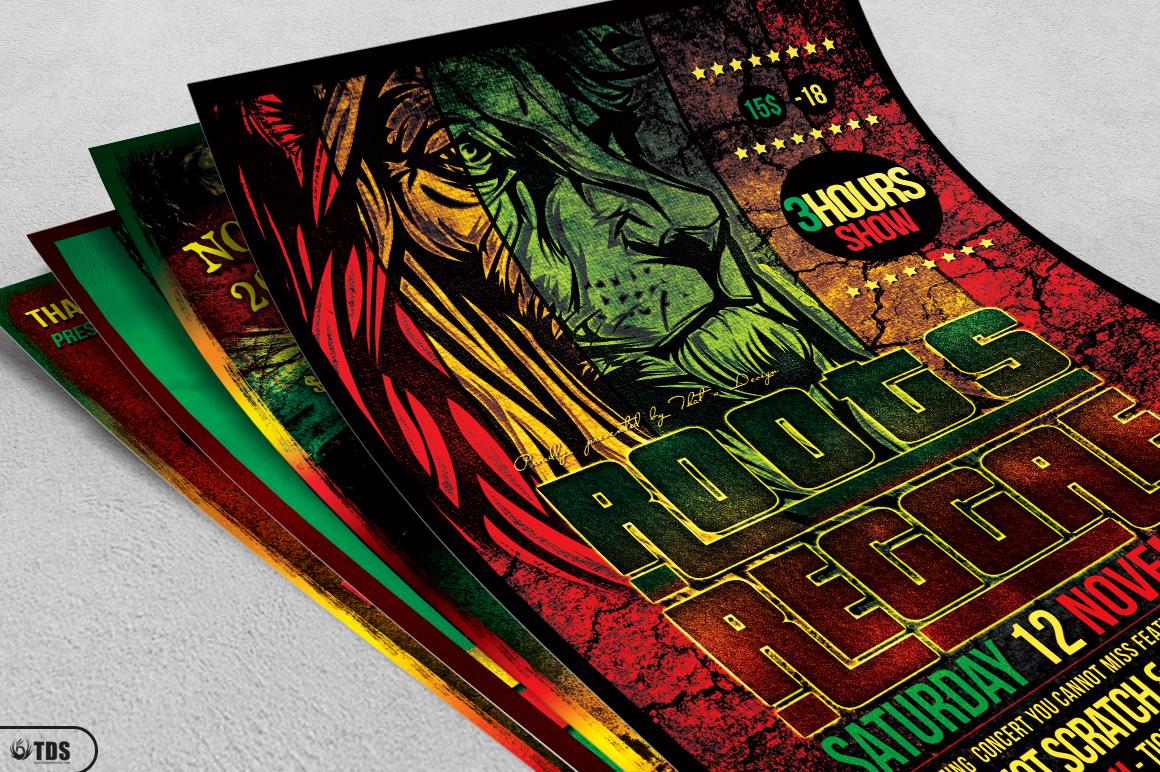 Reggae Flyer Bundle example image 4