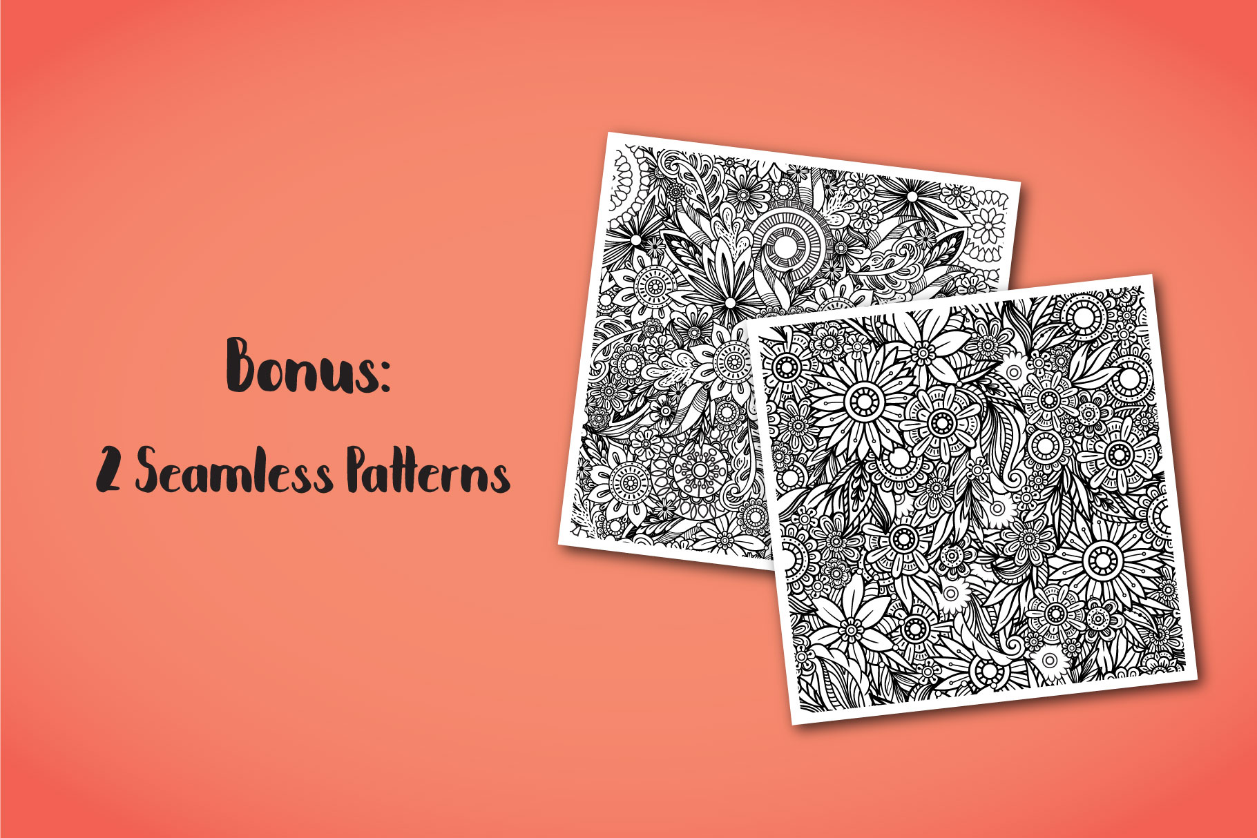 Floral Doodles Collection example image 14