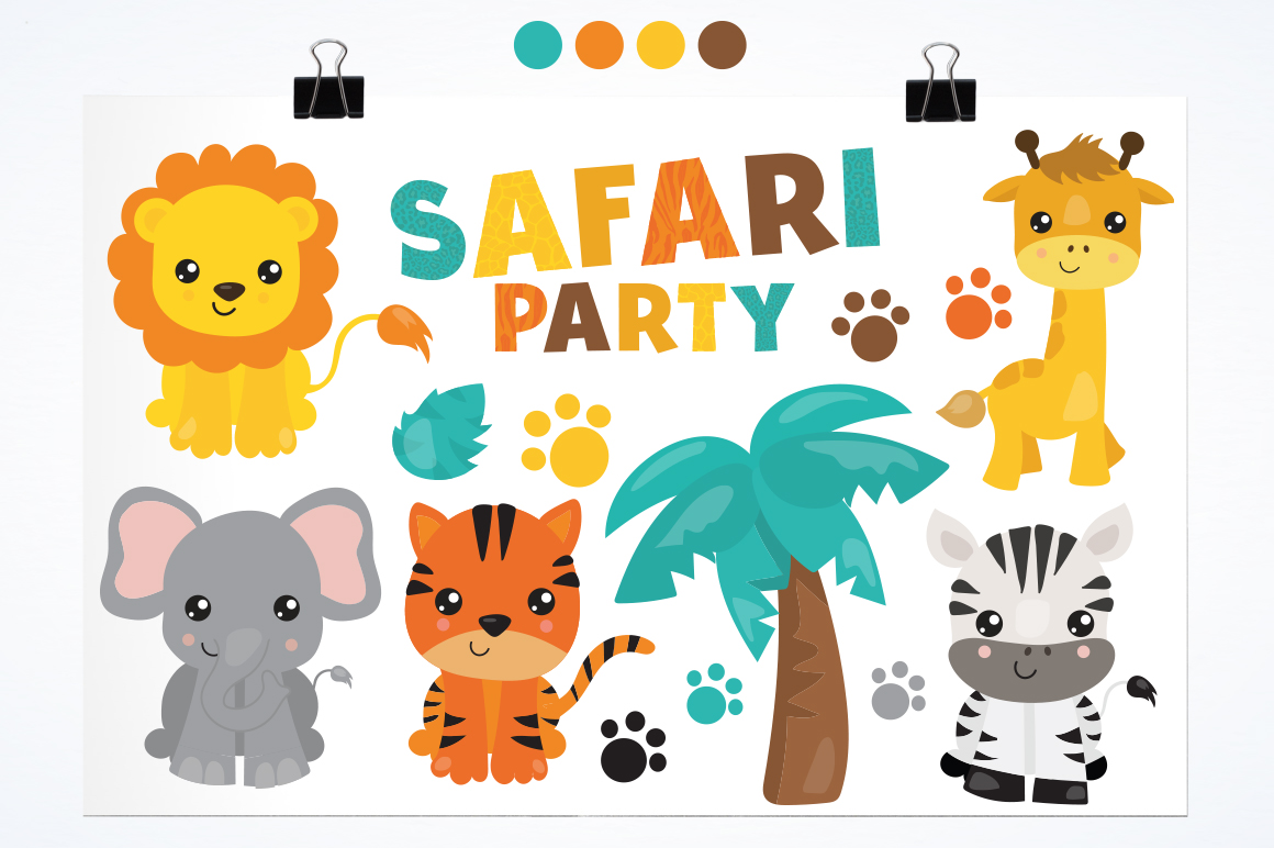 Safari Party graphic and illustration example image 2