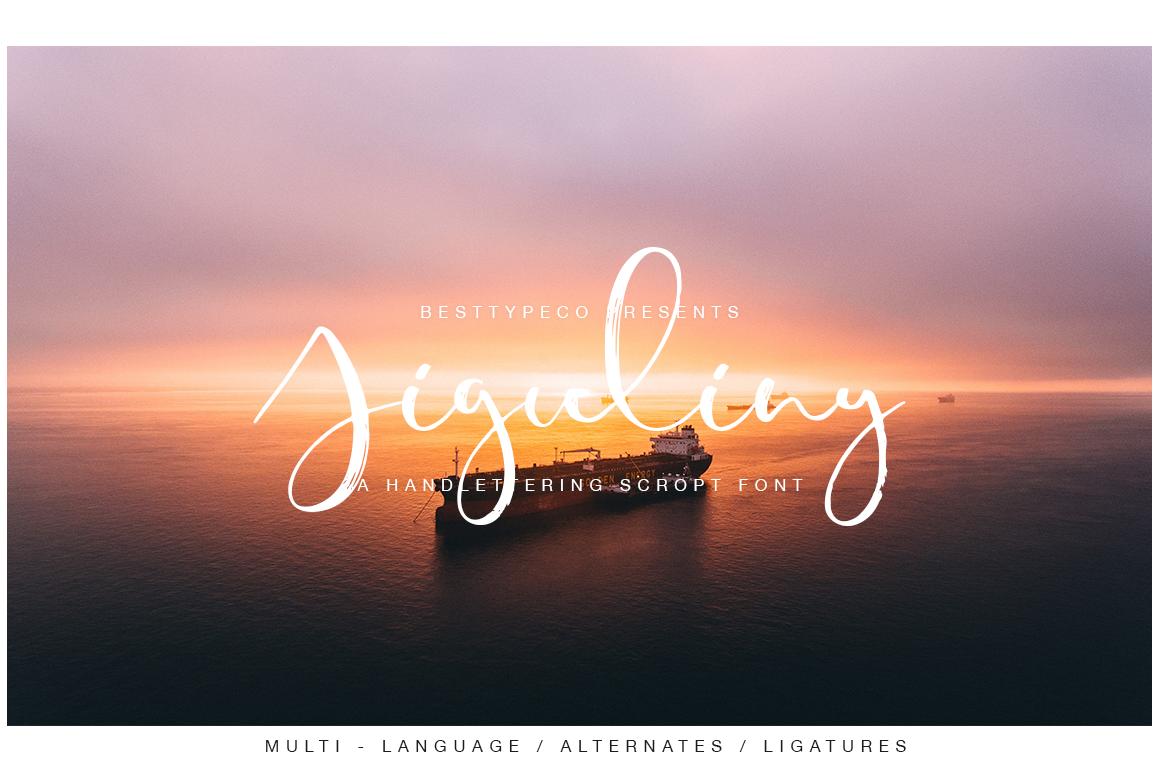 Freshly Font Bundle example image 7