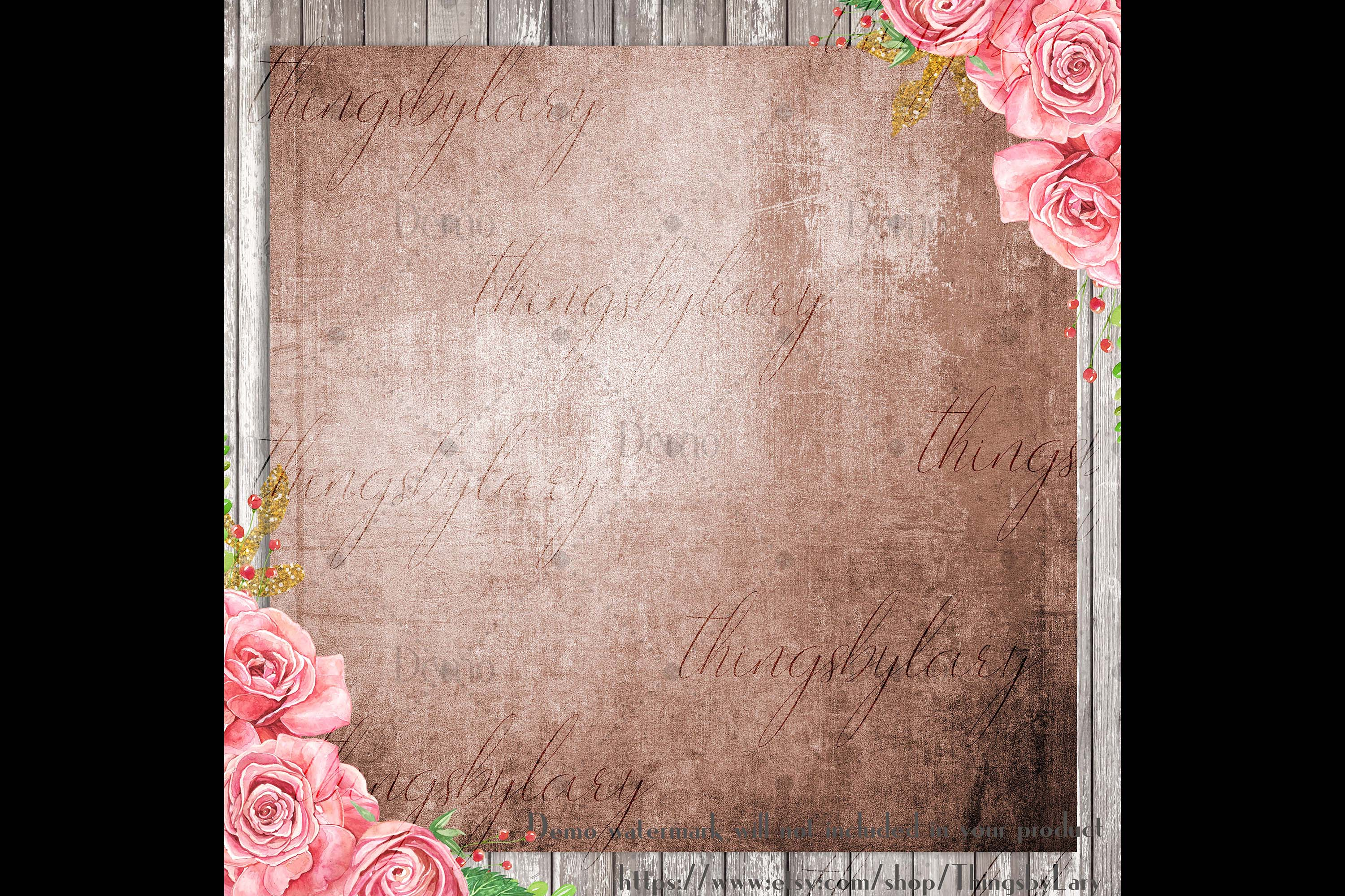 100 Real Antique Grunge Distressed Texture Digital Papers example image 3