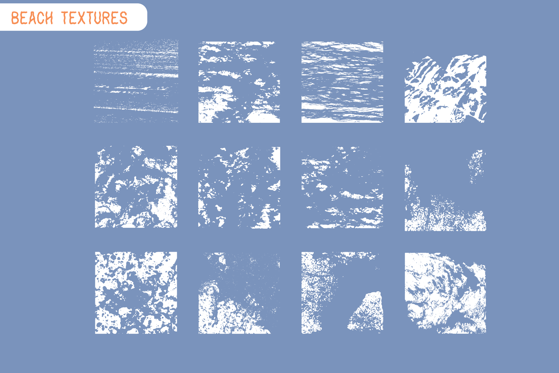 Coastal Fever - Font Package & Beach Textures example image 6