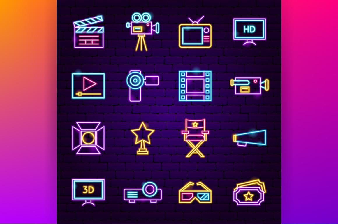 Cinema Neon example image 2
