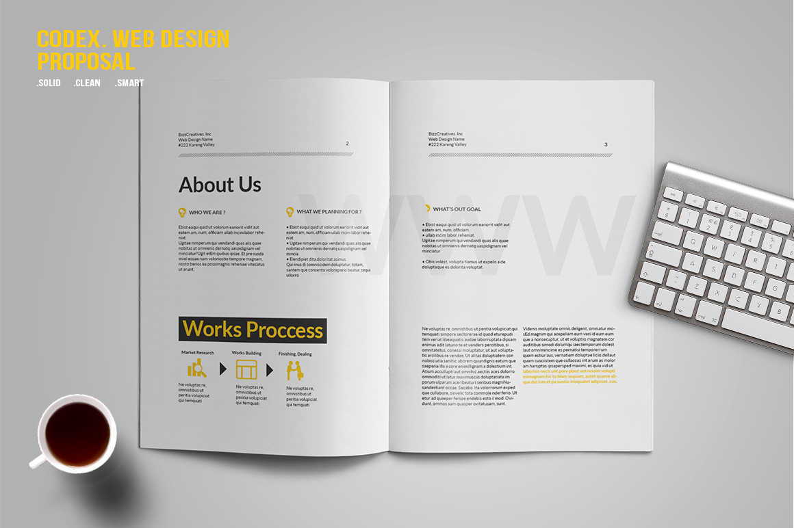 CODEX. Web Design Proposal example image 4