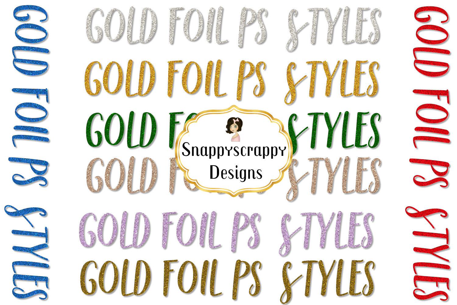 Gold Foil PS Styles example image 2
