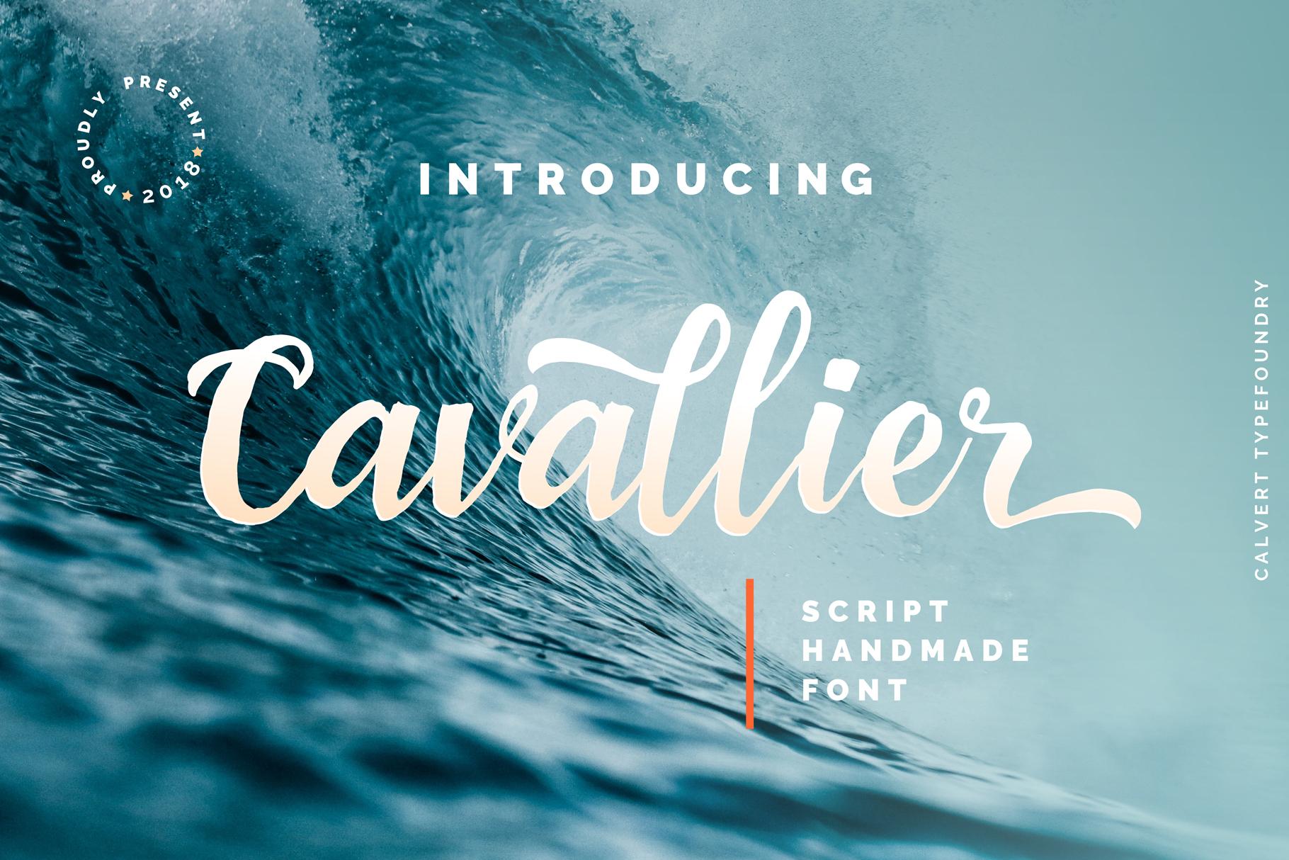 Cavallier Script example image 1