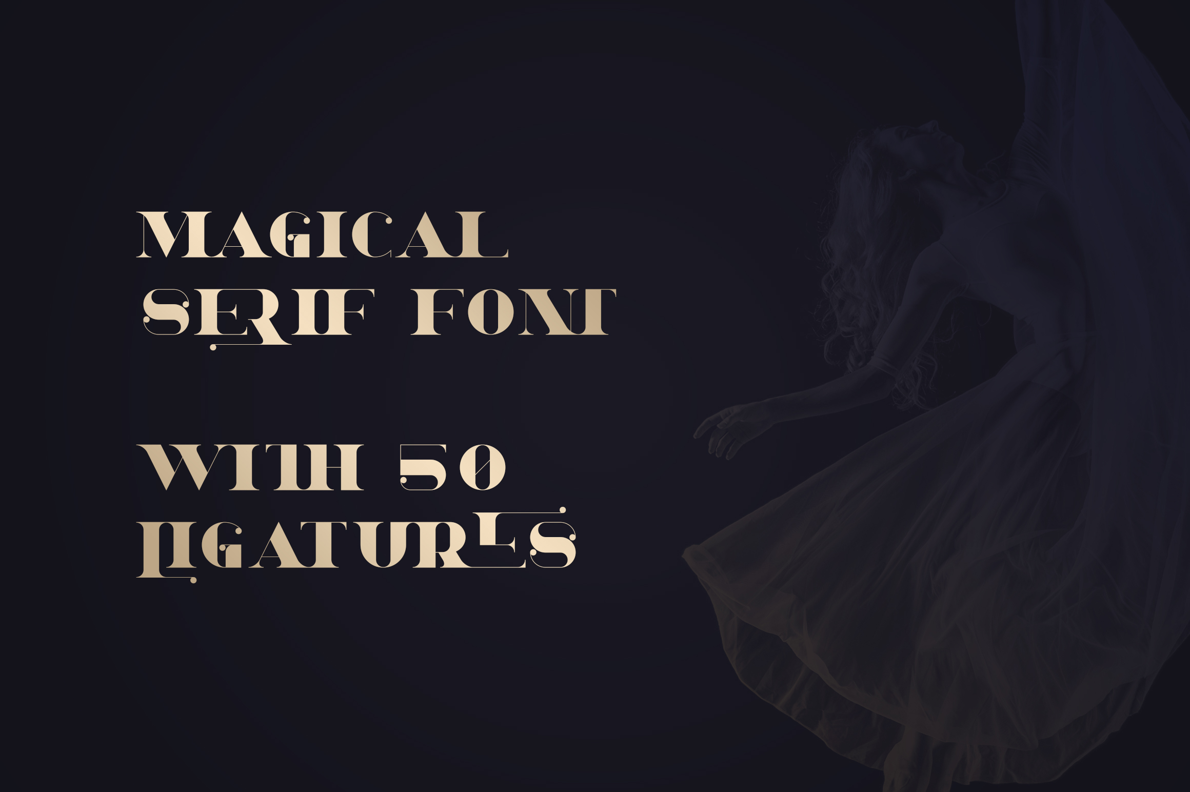 Dream - Magical Serif Font example image 2