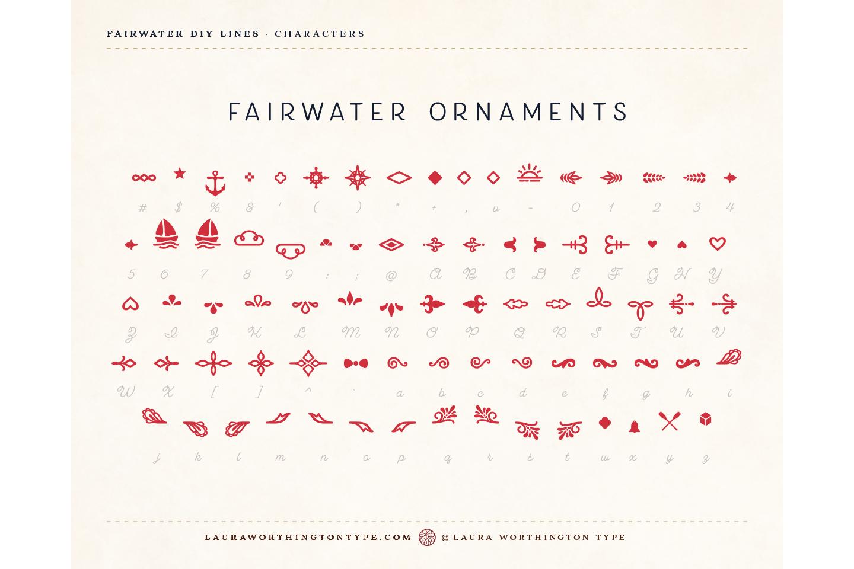 Fairwater DIY Lines example image 30