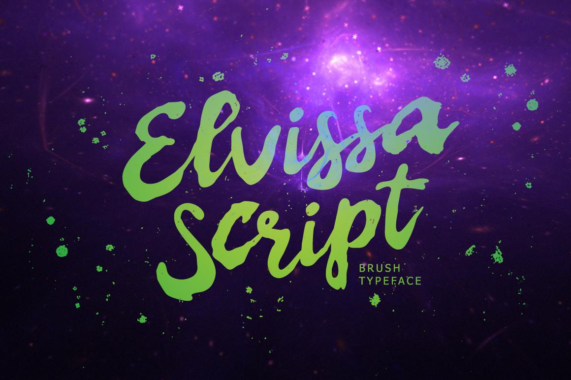 Elvissa Script example image 1